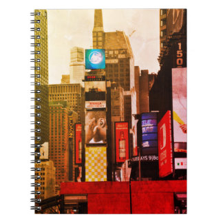 New York NYC city Notebook