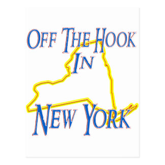 New York - Off The Hook Postcard