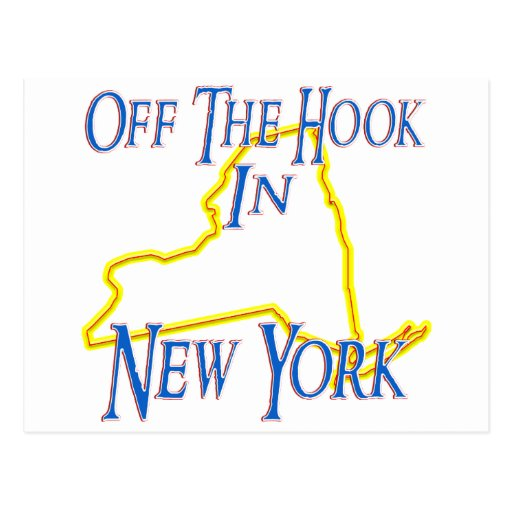 New York - Off The Hook Post Card