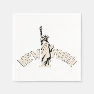 New York Paper Serviettes