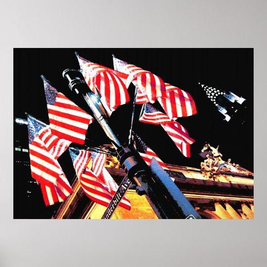 New York Patriot Poster