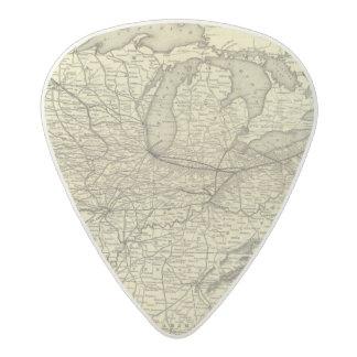 New York, Pennsylvania and Ohio Railroad Acetal Guitar Pick