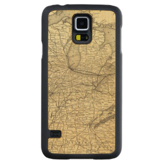 New York, Pennsylvania and Ohio Railroad Carved Maple Galaxy S5 Case