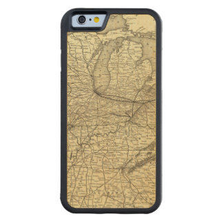New York, Pennsylvania and Ohio Railroad Carved Maple iPhone 6 Bumper Case
