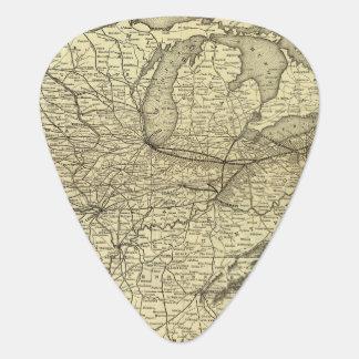 New York, Pennsylvania and Ohio Railroad Guitar Pick