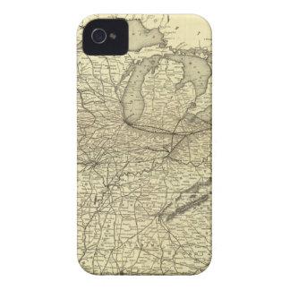New York, Pennsylvania and Ohio Railroad iPhone 4 Case-Mate Cases