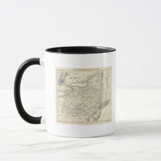 New York, Pennyslvania, and New Jersey Mug