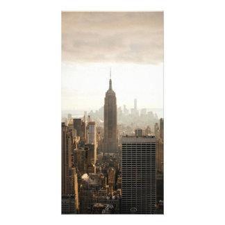 New York Photo Card Template