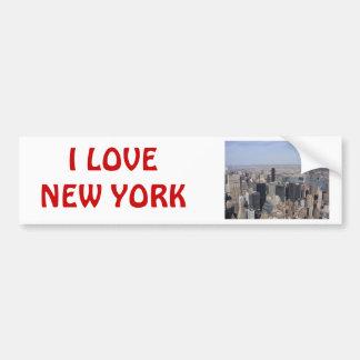 New York Photograph Bumper Sticker