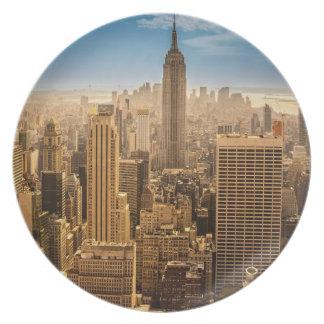 New York Plate