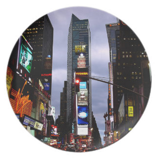 New York Plate NY Souvenirs Times Square Plate