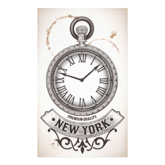 New York Pocket Watch Photo Print