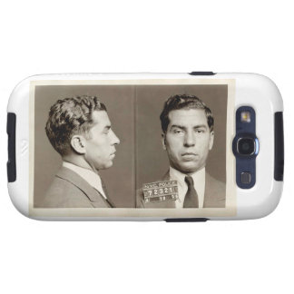 New York Police Mugshot Charles Lucky Luciano Galaxy S3 Case