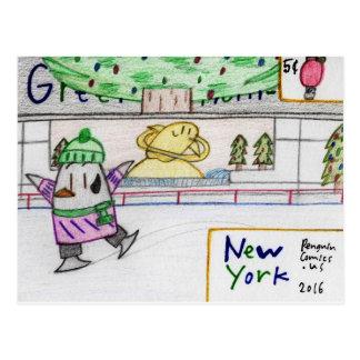 """New York"" postcard"