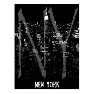 New York Postcard Cityscape New York Souvenir Card