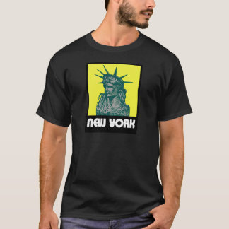 New York Postcard Style T-Shirt