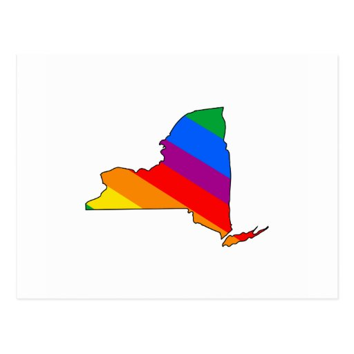 NEW YORK PRIDE POST CARD