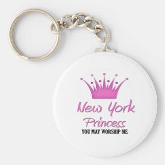 New York Princess Key Ring