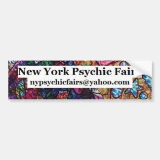 NEw York Psychic Fairs Bumper Sticker