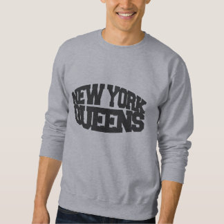 new york queens - dark grey sweatshirt