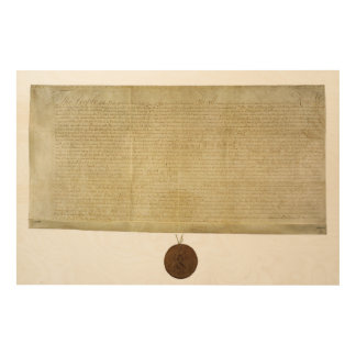 New York Ratification of the Bill of Rights (1790) Wood Prints