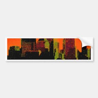new york red bumper sticker