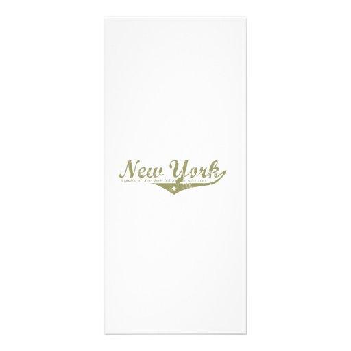 New York Revolution T-shirts Rack Card