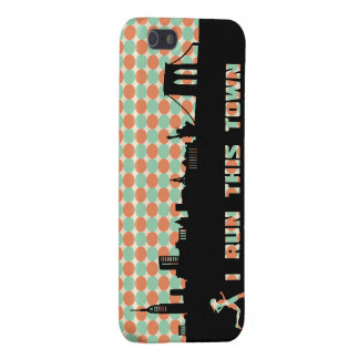 New York Runner I Run This Town iPhone Case iPhone 5 Cover