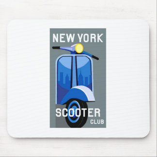 New York Scooter Club Mousepad