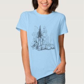 New York Sequoia T-shirts