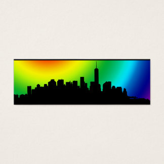 New York Silhouette business card