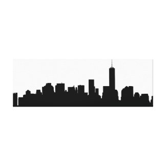 New York Silhouette canvas