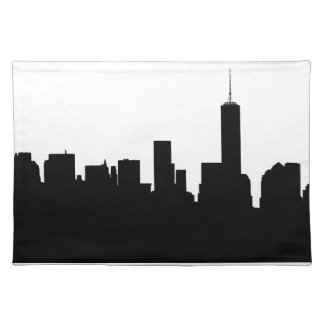 New York Silhouette Placemat