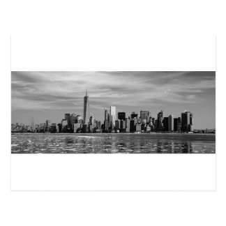 New York Silhouette Postcard