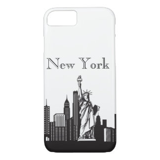 New York Silhoutte Phone & Ipad Cases