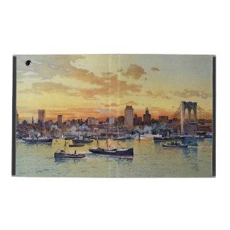 NEW YORK SKYLINE 1896 CASE FOR iPad