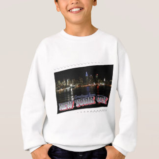 New York Skyline at Night Empire State Sweatshirt