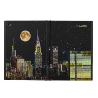 New York Skyline At Night With Full Moon Powis iPad Air 2 Case