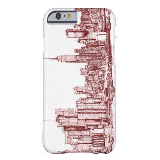 New York skyline Barely There iPhone 6 Case