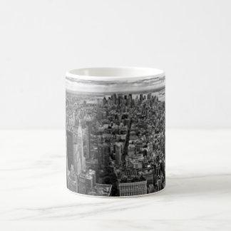 New York Skyline Basic White Mug