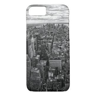 New York Skyline Black and White iPhone 8/7 Case