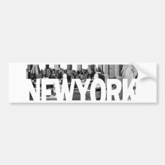 New York Skyline Bumper Stickers