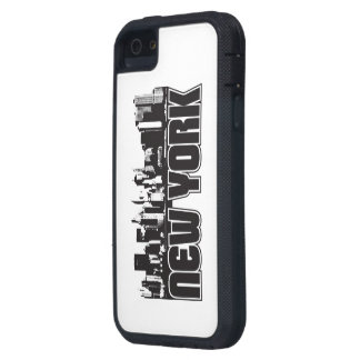 New York Skyline Case For The iPhone 5