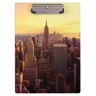 New York skyline city with Empire State Clipboard