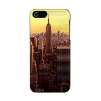 New York skyline city with Empire State Incipio Feather® Shine iPhone 5 Case