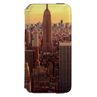 New York skyline city with Empire State Incipio Watson™ iPhone 6 Wallet Case