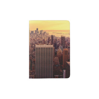 New York skyline city with Empire State Passport Holder
