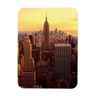 New York skyline city with Empire State Magnet