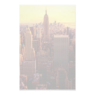 New York skyline city with Empire State Stationery