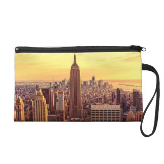 New York skyline city with Empire State Wristlets